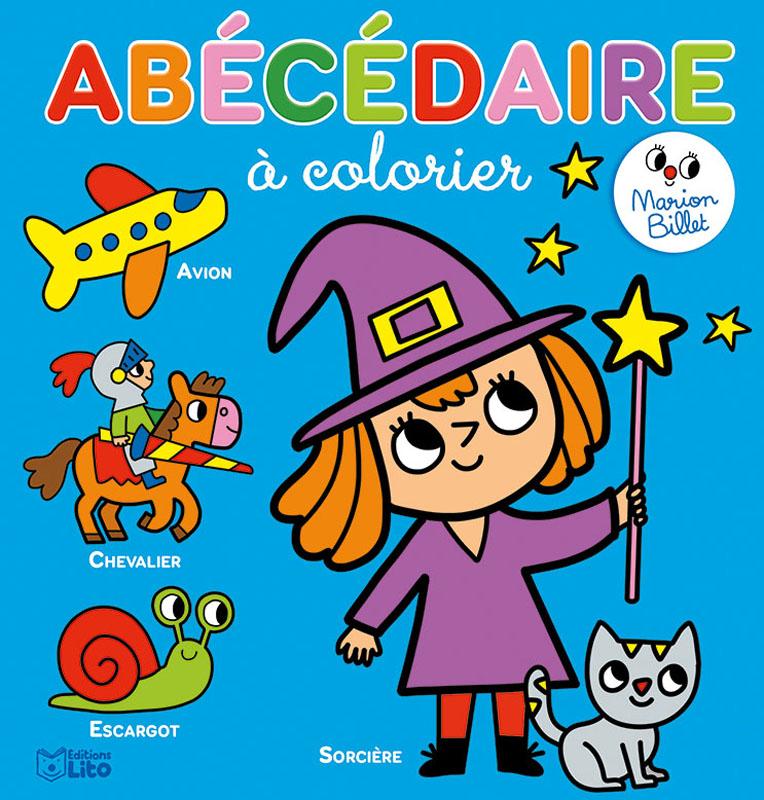 Abecedaire A Colorier Editions Lito