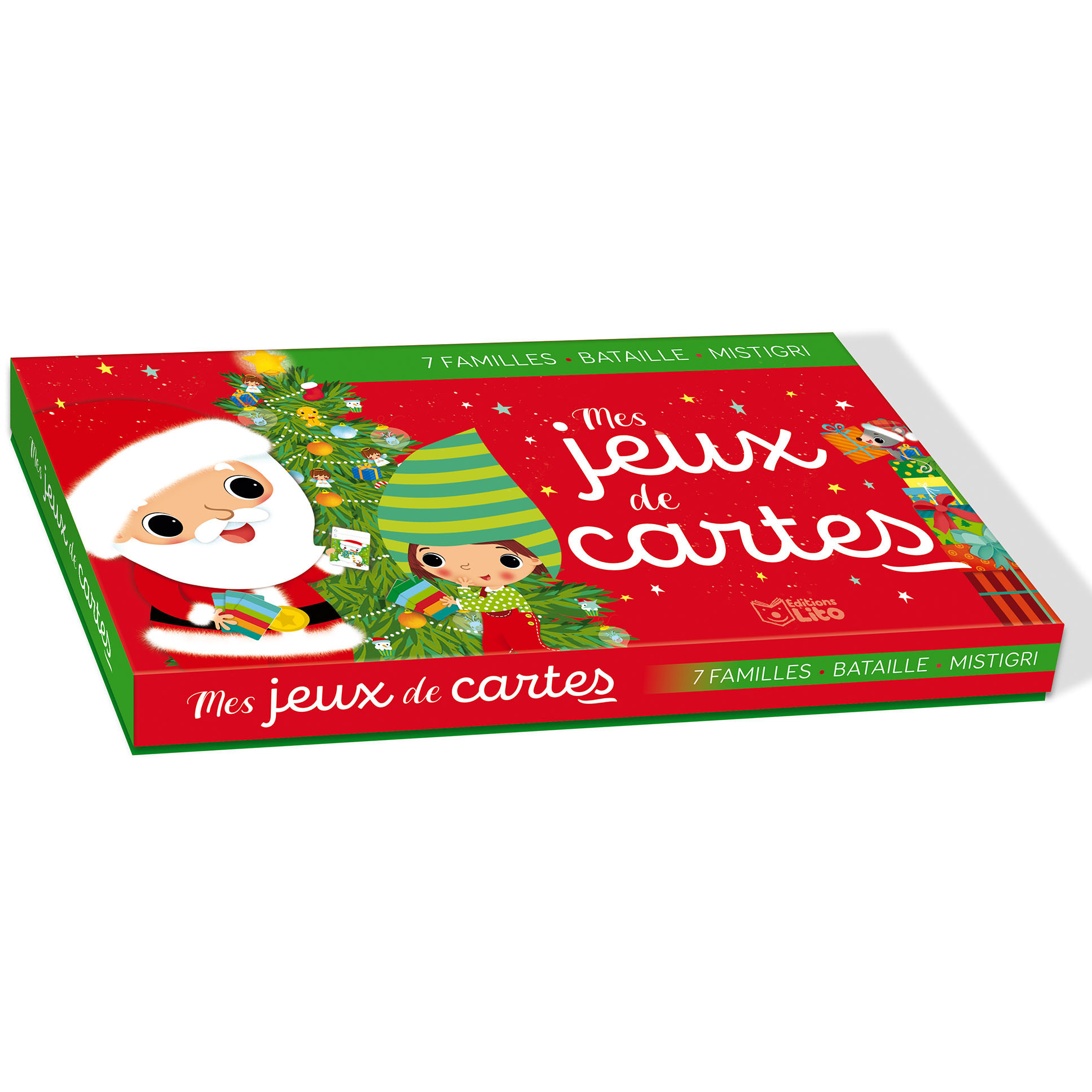 Mes jeux de cartes Noël   Editions Lito